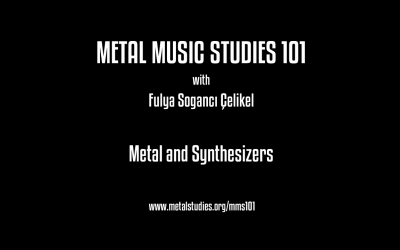 Metal and Synthesizers with FulyaÇelikel