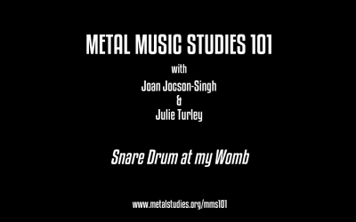 The Role of Rock and Heavy Metal Mothering w/ Joan Jocson and Julie Turley